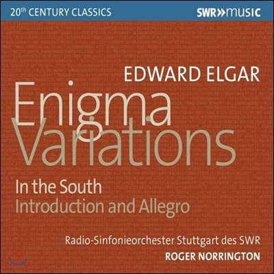 Roger Norrington 엘가: 수수께끼 변주곡, 남국에서 외 (Elgar: Enigma Variations, Op. 36, In the South, Op. 50)