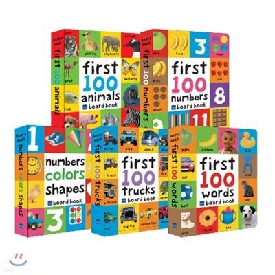 프리디북스 우리 아이 첫번째 영어사전 5종 세트 (보드북 / 세이펜 버전) : First 100 Collections