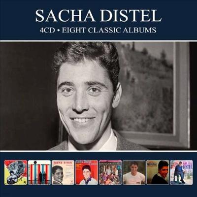 Sacha Distel - 8 Classic Albums (Remastered)(Digipack)(4CD)