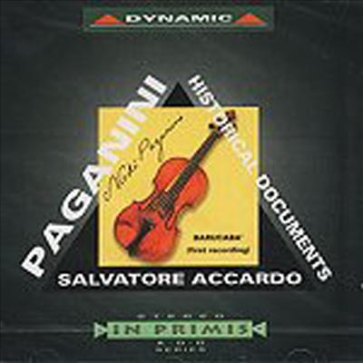 파가니니: 바루카바 테마에 의한 변주곡 (세계 최초 녹음) (Paganini - Historical Documents) - Salbatore Accardo