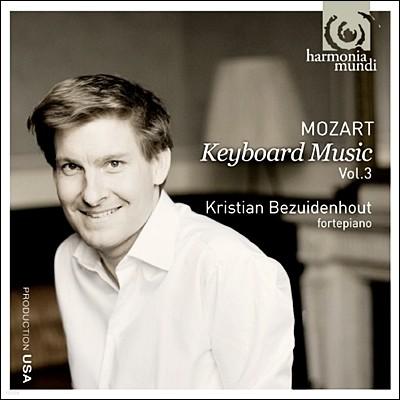 Kristian Bezuidenhout 모차르트: 키보드 작품 3집 (Mozart: Keyboard Music Volume 3)