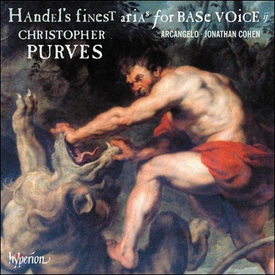 Christopher Purves 헨델: 저음 성부를 위한 아리아 2집 (Handel: Finest Arias for Base Voice Vol. 2)