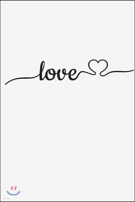 Love: For writing, journaling, notes, diary and great ideas