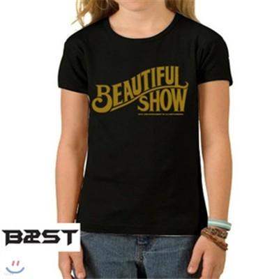 비스트 BEAST 공식티셔츠 Beatiful Show WOMEN L(66) SIZE
