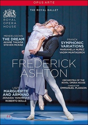 Royal Ballet 안무가 프레데릭 애쉬톤의 대표작 (Frederick Ashton: The Dream / Symphonic Variations / Marguerite And Armand)