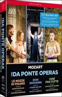 로열 오페라에 올려졌던 모차르트 오페라 다 폰테 3부작  - '피가로의 결혼', '돈 조반니', '코지 판 투테' (Mozart: The Da Ponte Operas)