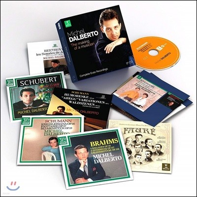 미셸 달베르토 에라토 레이블 녹음 전집 (Michel Dalberto: The Making of a Musician - Complete Erato Recordings)