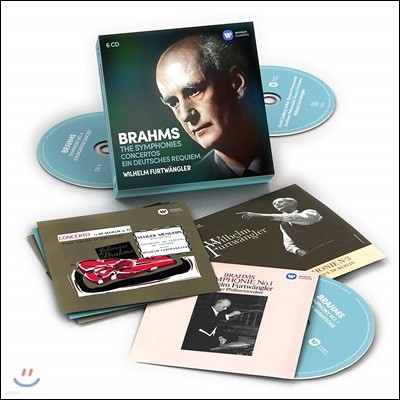 Wilhelm Furtwangler 브람스: 교향곡 전곡, 독일 레퀴엠 (Brahms: The Symphonies, Concertos, Ein deutsches Requiem) 빌헬름 푸르트뱅글러