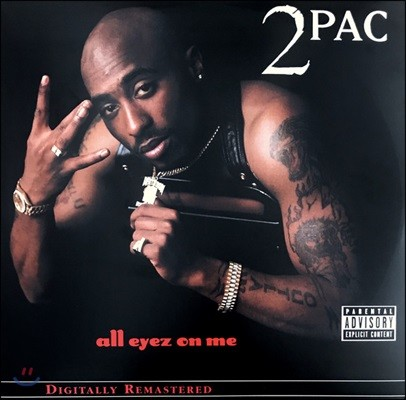 2Pac (투팍) - All Eyez On Me (Explicit) [4LP]