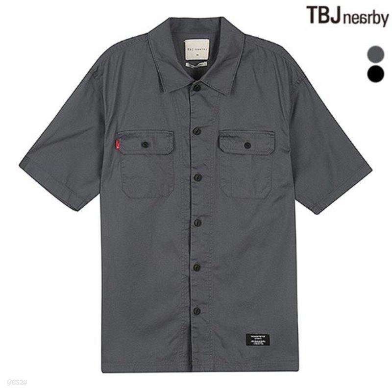 [TBJ]남성 5부 기본카라 워크자켓형 셔츠(T183SH350P)