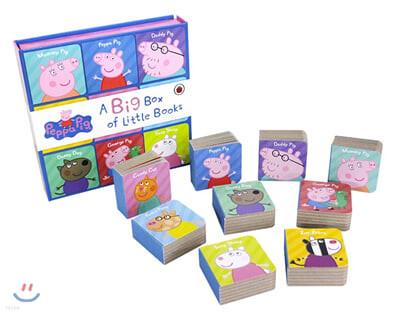 페파 피그 영단어 미니 보드북 9종 세트 : Peppa Pig : Big Box of Little Books