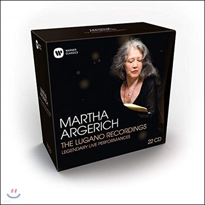 Martha Argerich 마르타 아르헤리치 루가노 녹음 전집 (The Lugano Recordings: Legendary Live Performances)