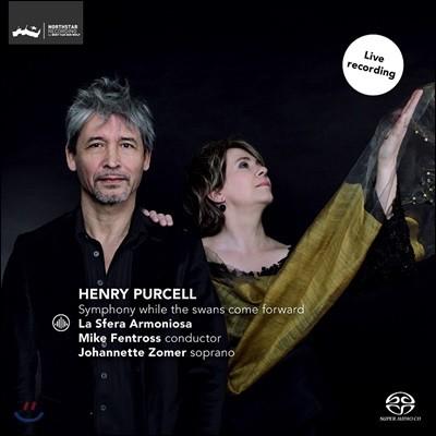 Johannette Zomer 퍼셀: '여자 예언자', '인도 여왕', '아더 왕', '요정 여왕' 중 성악, 기악 작품집 (Purcell: Symphony While The Swans Come Forward)