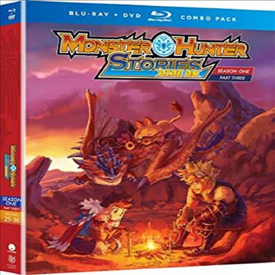 Monster Hunter Stories Ride On: Season One, Part Three (몬스터 헌터 스토리즈 라이드 온)(한글무자막)(Blu-ray)