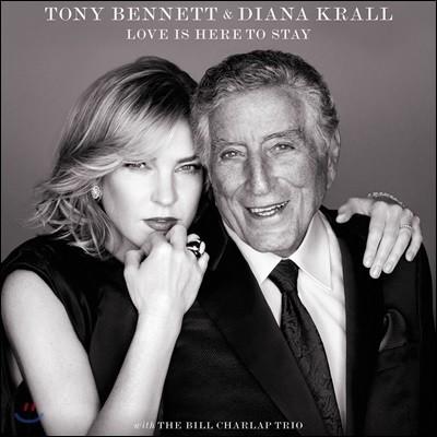 Tony Bennett / Diana Krall - Love Is Here To Stay 토니 베넷 / 다이애나 크롤 조지 거슈윈 탄생 120주년 기념 송북 [디럭스 버전]