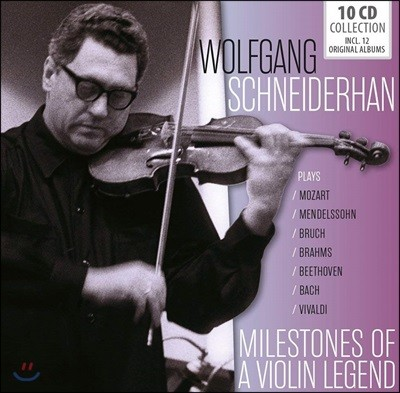 Wolfgang Schneiderhan 볼프강 슈나이더한 - 10 오리지널 앨범 모음 (Milestones of a Violin Legend - 10 Original Albums)