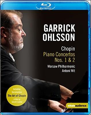 Garrick Ohlsson 쇼팽: 피아노 협주곡 1번 2번 + 다큐멘터리 `쇼팽 예술의 세계` (Chopin: Piano Concertos)