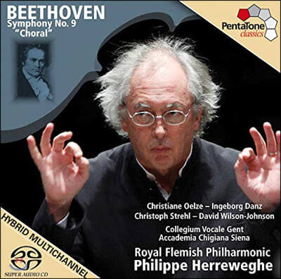 Philippe Herreweghe 베토벤: 교향곡 9번 합창 - 헤레베헤 (Beethoven: Symphony No.9 `Choral`)