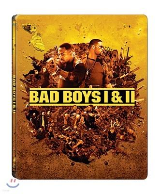 나쁜 녀석들 1, 2 (4Disc 4K UHD + BD 스틸북 한정판) : 블루레이