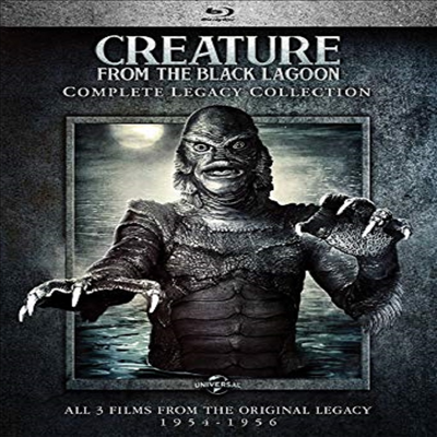 Creature From the Black Lagoon: Complete Legacy Collection (해양 괴물 레가시 컬렉)(한글무자막)(Blu-ray)
