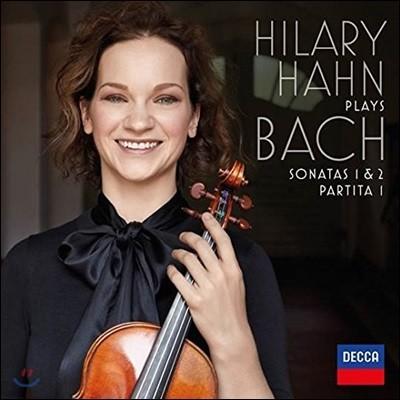 Hilary Hahn 바흐: 무반주 바이올린 소나타 1&2번 / 파르티타 1번 - 힐러리 한 [2LP]
