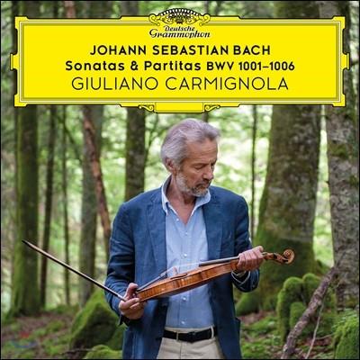 Giuliano Carmignola 바흐: 무반주 바이올린 소나타와 파르티타 - 줄리아노 카르미뇰라 (Bach: Sonatas & Partitas)