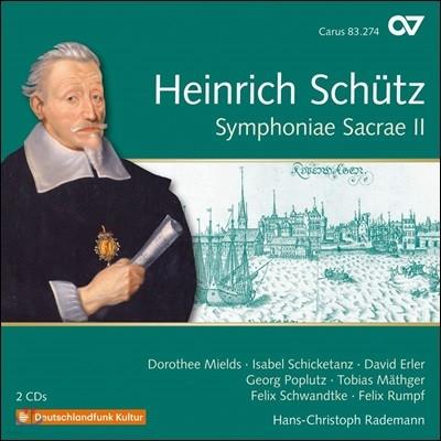 Hans-Christoph Rademann 쉬츠: '심포니에 사크라에(신성 교향곡)' 2권 (Schutz: Symphoniae Sacrae Vol.2) 한스-크리스토프 라데만