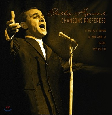 Charles Aznavour (샤를 아즈나부르) - Chansons Preferees [LP]
