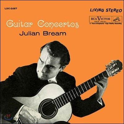Julian Bream 줄리아니 / 말콤 아놀드: 기타 협주곡 (Mauro Giuliani: Concerto for Guitar And Strings / Malcolm Arnold: Guitar Concerto Op.67) [LP]