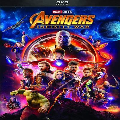 Avengers: Infinity War (어벤져스: 인피니티 워)(지역코드1)(한글무자막)(DVD)