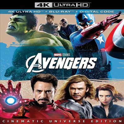 Marvel's The Avengers (어벤져스) (2012) (한글무자막)(4K Ultra HD + Blu-ray + Digital Code)