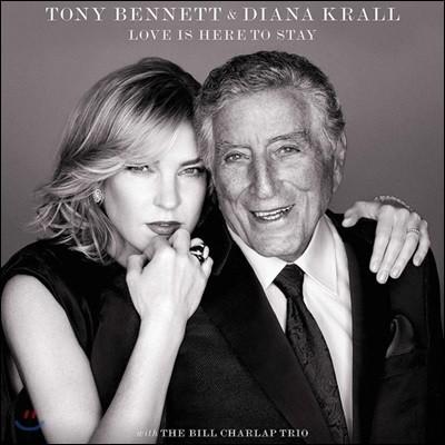 Tony Bennett / Diana Krall - Love Is Here To Stay 토니 베넷 / 다이애나 크롤 조지 거슈윈 탄생 120주년 기념 송북 [LP]