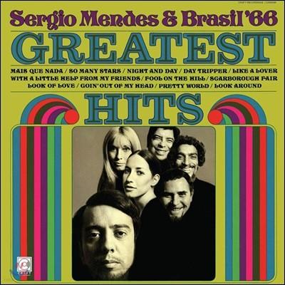 Sergio Mendes & Brasil '66 (세르지오 멘데스, 브라질'66) - Greatest Hits [LP]