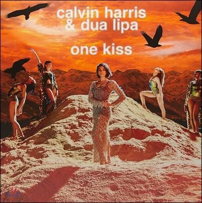 Dua Lipa X Calvin Harris - One Kiss 두아 리파, 캘빈 해리스 [픽쳐디스크 LP]