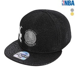 [NBA]GSW WARRIORS 고주파 와펜 HYFLAT CAP(N185AP628P)