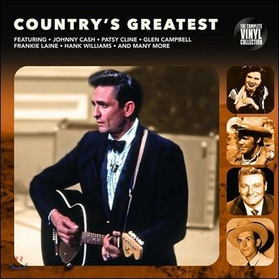 컨트리 음악 모음집 (Country's Greatest) [LP]