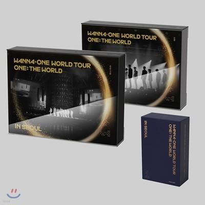워너원 (Wanna One) - 워너원 월드투어 원: 더 월드 인 서울 Wanna One World Tour One: The World In Seoul [DVD+BLU-RAY+KIHNO VIDEO]
