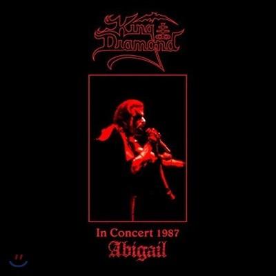 King Diamond (킹 다이아몬드) - In Concert 1987: Abigail [픽쳐 디스크 LP]