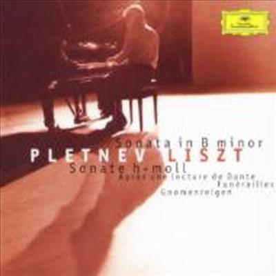 리스트: 피아노 소나타 B 단조 & 연습곡 '난쟁이의 춤' (Liszt: Piano Sonata In B Minor & Gnomenreigen From `deux Etudes Des Concerts` S.145) (SHM-CD)(일본반) - Mikhail Pletnev