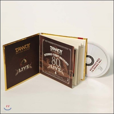 탄노이 스피커 80주년 기념 음반 (Tannoy 80th Stereo Test Record)