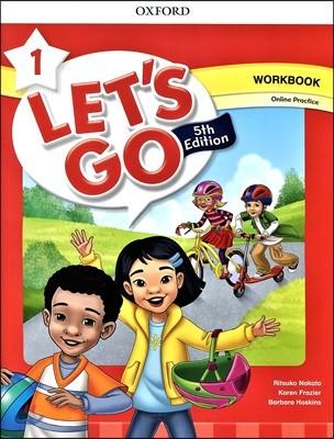 [5판]Let's Go 1 : Work Book with Online Practice