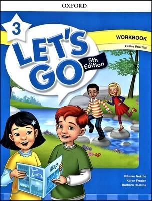[5판]Let's Go 3 : Work Book with Online Practice