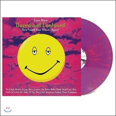 '멍하고 혼돈스러운 ' 영화음악 [데이즈드 앤 컨퓨즈드] (Dazed and Confused OST vol.2 - Even More Dazed and Confused) [퍼플 & 핑크 스플래터 컬러 LP]