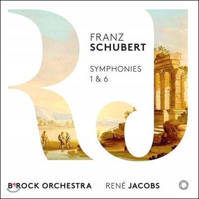 Rene Jacobs 슈베르트: 교향곡 1번, 6번 (Schubert: Symphonies 1 & 6) 르네 야콥스