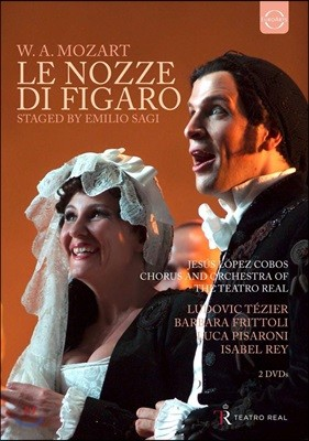 Luca Pisaroni 모차르트: 오페라 '피가로의 결혼' (Mozart: Le Nozze Di Figaro) 루카 피사로니 [2DVD]