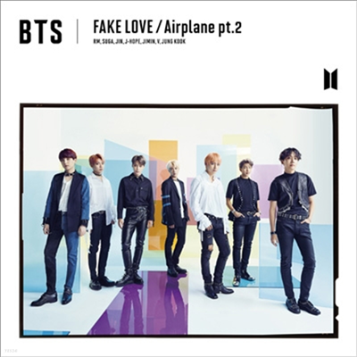 방탄소년단 (BTS) - Fake Love / Airplane Pt.2 (CD+DVD) (초회한정반 A)