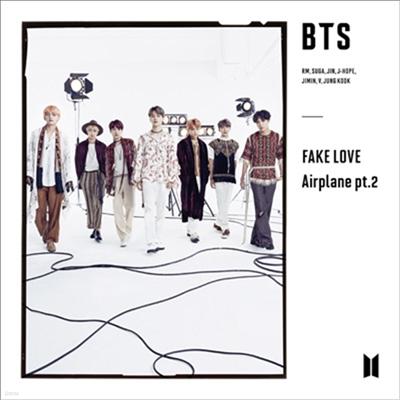 방탄소년단 (BTS) - Fake Love / Airplane Pt.2 (CD+Photo Booklet) (초회한정반 C)