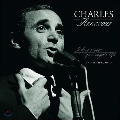 Charles Aznavour (샤를르 아즈나부르) - Il Faut Savoir / Je M'voyias Deja [LP]