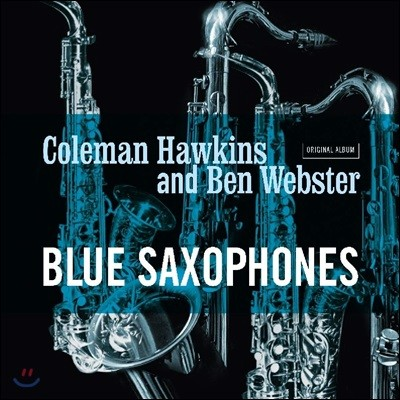 Coleman Hawkins / Ben Webster (콜맨 호킨스, 벤 웹스터) - Blue Saxophones [LP]