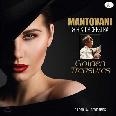 Mantovani & His Orchestra - Golden Treasures 만토바니 베스트 앨범 [2LP]